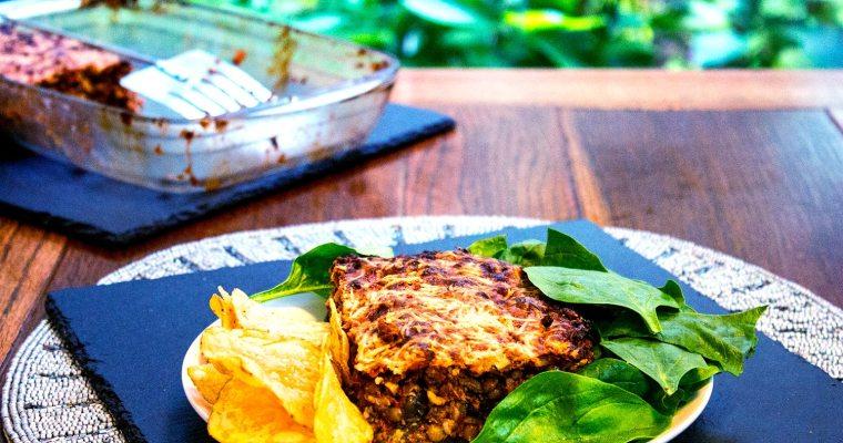 Mediterranean Veggie Bake