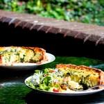 Gluten-free Wild Garlic Quiche