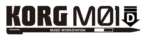 KORG M01D logo