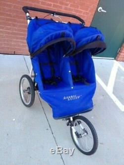 dreamer design fitness first twin double jogger jogging stroller