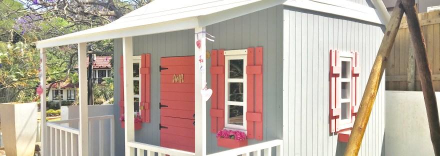 Decorate playhouse
