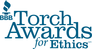 Better Business Bureau Ethics Award Winner