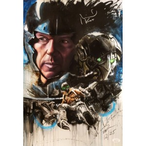 Rob Prior Vulture print signed by Michael Keaton