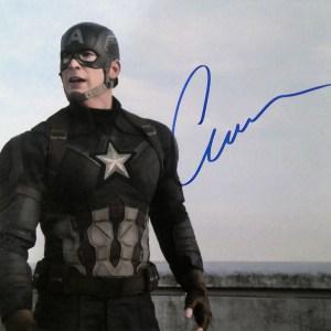 Chris Evans Signed Items