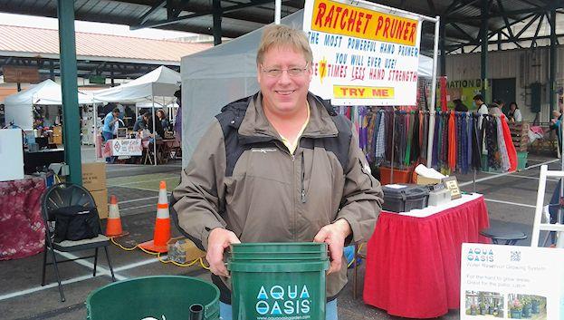 The Aqua Oasis at the Farmers' Market Annex.