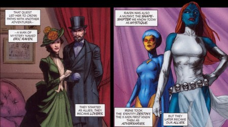 Destiny and Mystique from Chaos War: X-Men #1