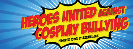 The banner, created by Jezzabellgem, promotes equality among all cosplayers.