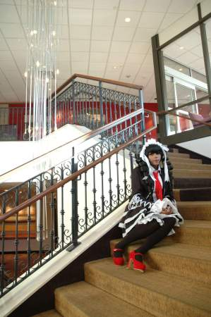 Cyril Cosplay as Celestia Ludenburg (Photo by Akahime)