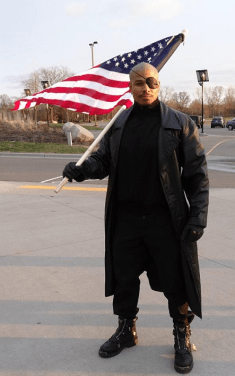 Anthony Garnett as Nick Fury