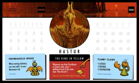 Hastor Role Card