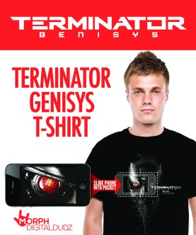 Terminator Genisys Animated T-Shirt
