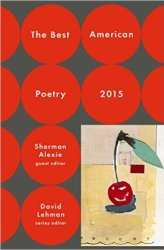 Best American Poetry 2015 book cover