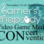 Gamer's Rhapsody Video Game Concert & Convention flyer