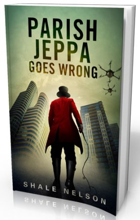 Book cover for Parish Jeppa Goes Wrong by Shale Nelson