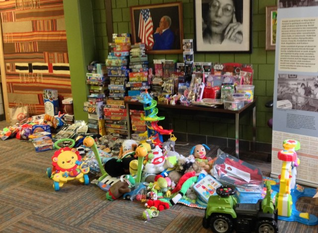 Toy Drive Donations 1