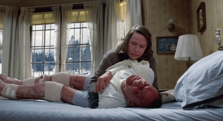 "Kathy Bates is ""helping"" James Caan"