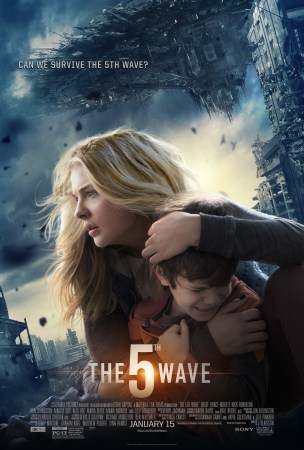 Poster for The 5th Wave featuring Chloe Grace Moretz