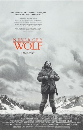 poster for Never Cry Wolf