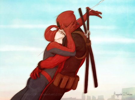 Spider-Man and Deadpool again