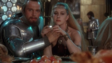 Liam-Neeson-and-Helen-Mirren-in-Excalibur