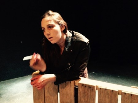 "Sarah Parker in ""Belong Dead"" by Andrew Rosdail as the Bride, 2015"