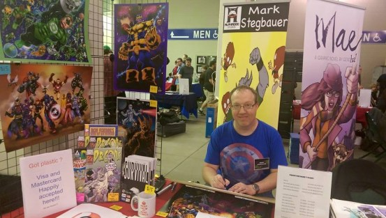 Mark Stegbauer at MSP ComiCon 2015