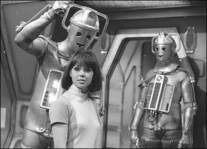 BBC Doctor Who's Wendy Padbury as Zoe Heriot