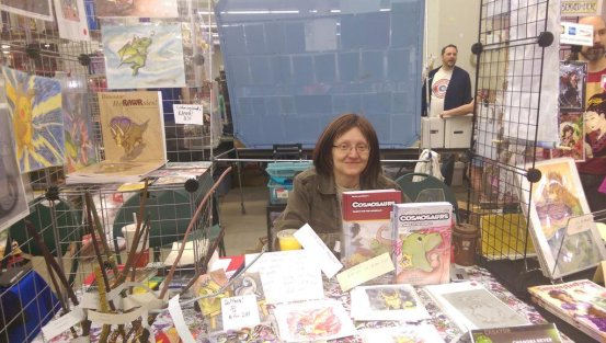 Chandra Reyer at MSP ComiCon 2015