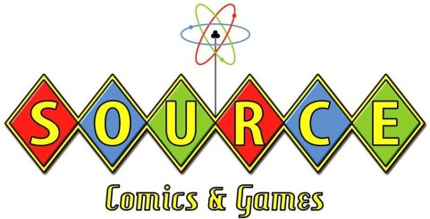 Source Comics & Games Logo