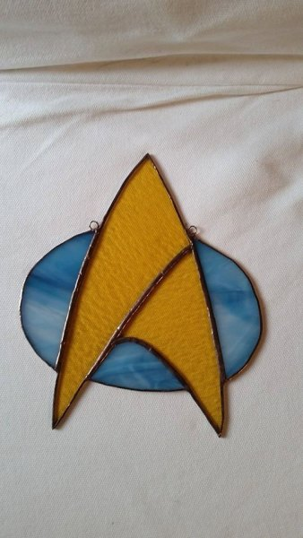 Star Trek Suncatcher / Stay Glassy