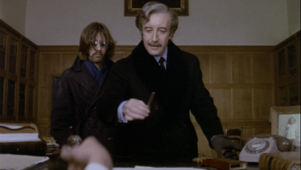 Screenshot of Ringo Starr and Peter Sellers