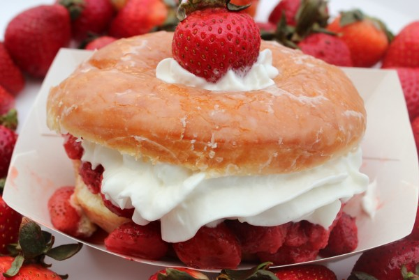 Strawberry Donut Delight