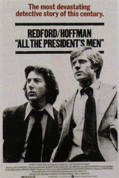 Theatrical poster for All the President's Men