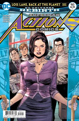 The cover of Action Comics #965, featuring Lois Lane