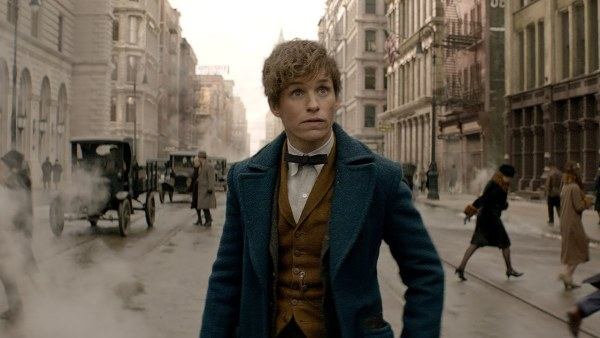 Eddie Redmayne as Newt in 1920s New York