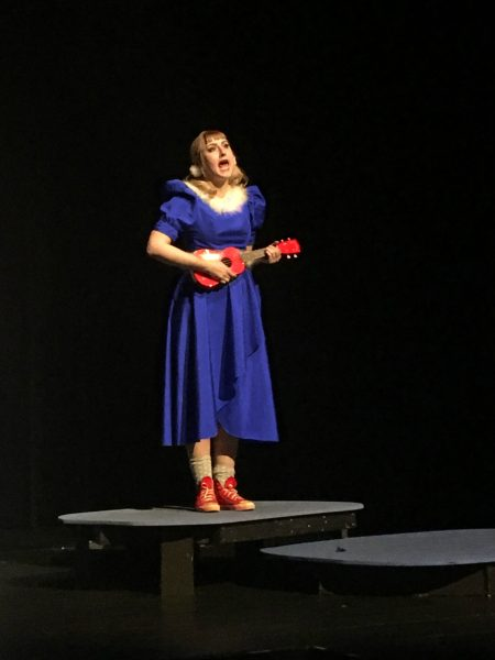 "Gertrude, played by Anne Brown, hilariously sings ""Notice Me Horton""."