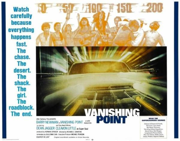 Lobby poster for Vanishing Point.
