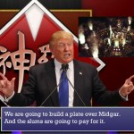 "Donald Trump as President ShinRa from FFVII says ""We are going to build a plate over Midgar - and the slums are going to pay for it!"""