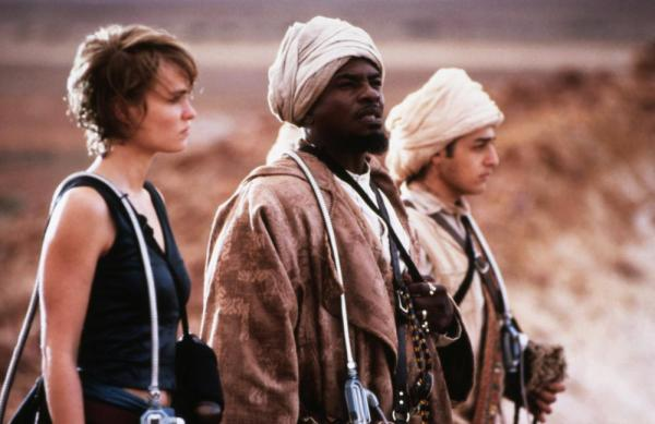 Radha Mitchell, Keith David, and Les Chantery.