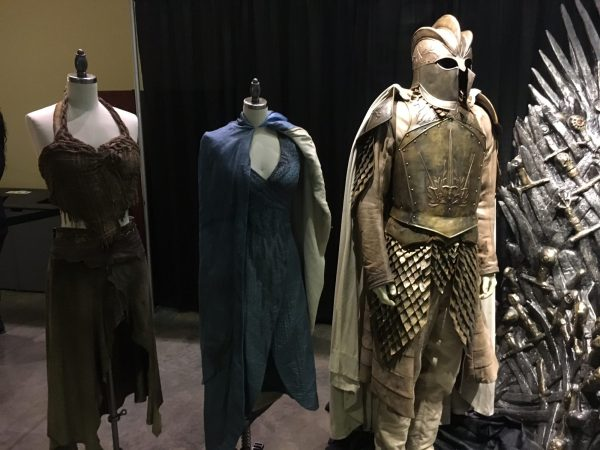 Costumes from the GoT HBO series