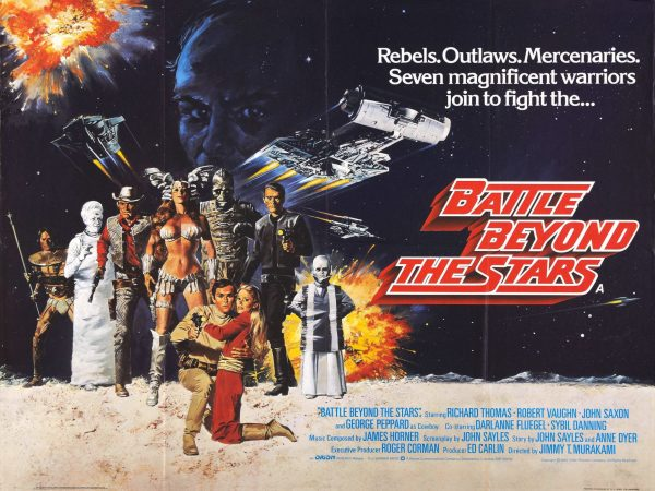 Theatrical lobby sheet for Battle Beyond the Stars.