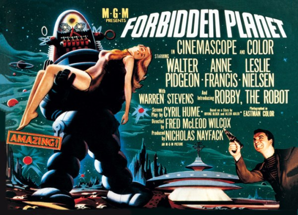 Lobby poster for Forbidden Planet.