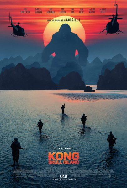 The cinematic poster for Kong: Skull Island
