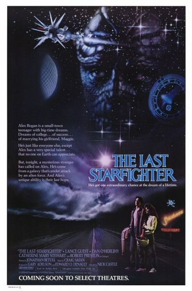 Theatrical teaser poster for The Last Starfighter