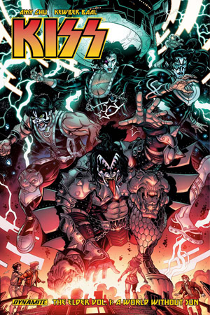 Cover of Kiss: The Elder vol. 1, courtesy of Dynamite Entertainment