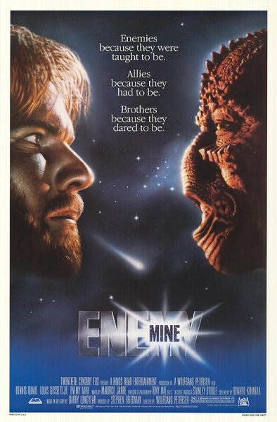 Enemy Mine theatrical poster
