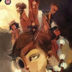 The cover of the graphic novel, The Circle, by Damon Clark and Aliza Zherno.