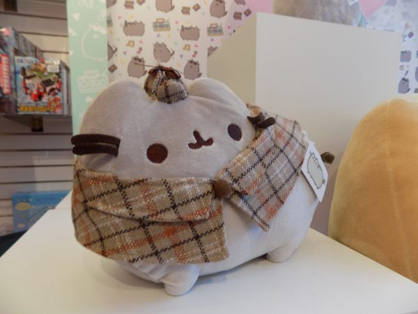 A Sherlock Pusheen plush