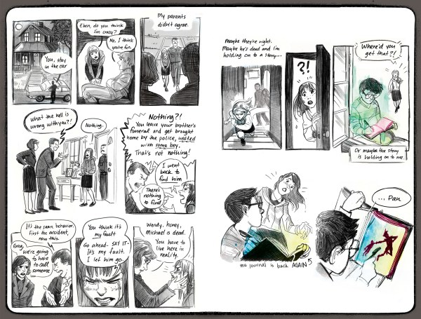 The Wendy Project interior pages
