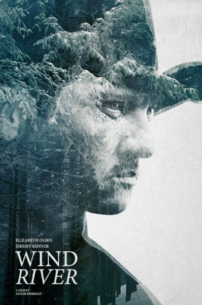 Wind River poster featuring Jeremy Renner